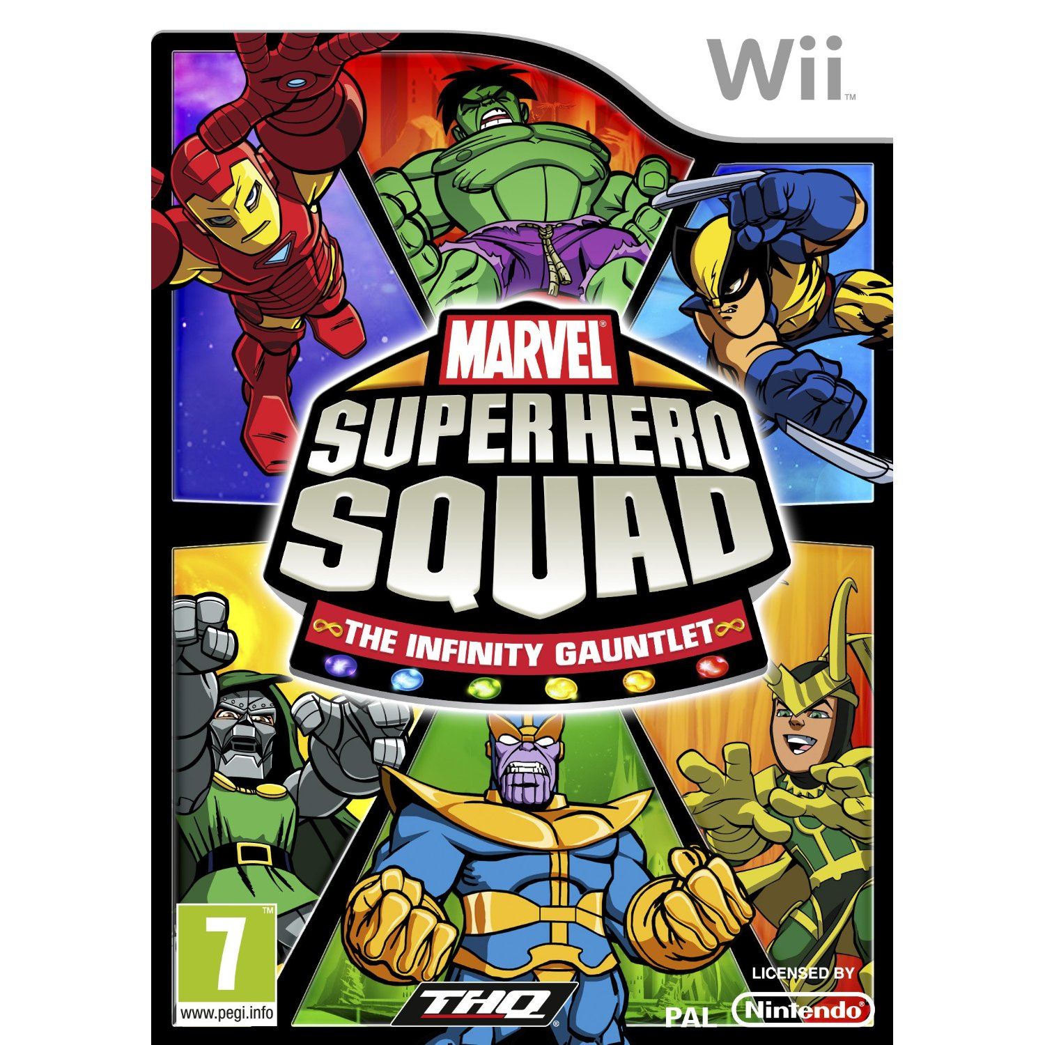 Marvel Super Hero Squad The Infinity Gauntlet Wii