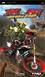 MX vs ATV On the Edge PSP