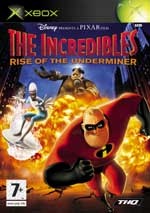 The Incredibles Rise of the Underminer Xbox