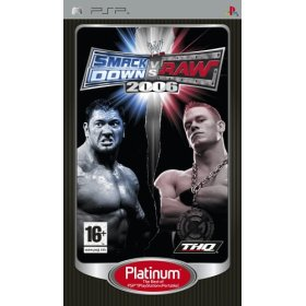 WWE smackdown vs Raw 2006 Platinum PSP