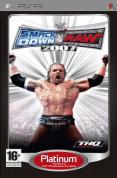 WWE smackdown vs Raw 2007 Platinum PSP
