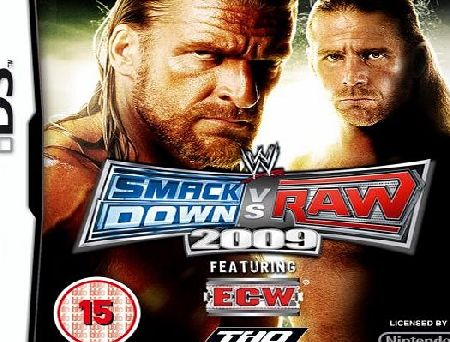 WWE Smackdown vs Raw 2009 NDS