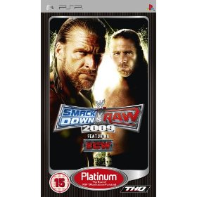 THQ WWE smackdown vs Raw 2009 Platinum PSP