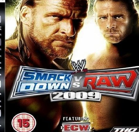 WWE Smackdown VS Raw 2009 Special Edition PS3