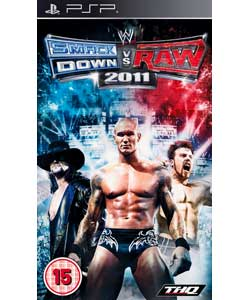 WWE smackdown vs Raw 2011 PSP