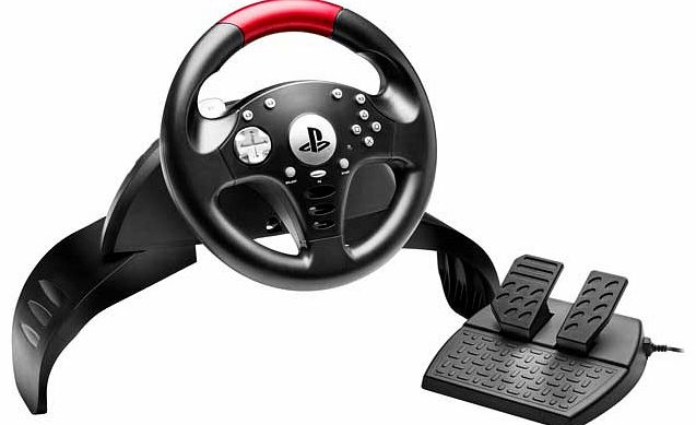 T60 Challenge Steering Wheel for PS3