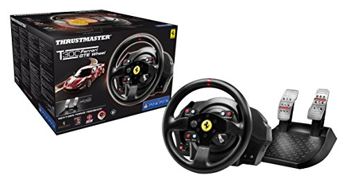 T300 Ferrari GTE Official Force Feedback wheel (PS4/PS3/PC DVD)