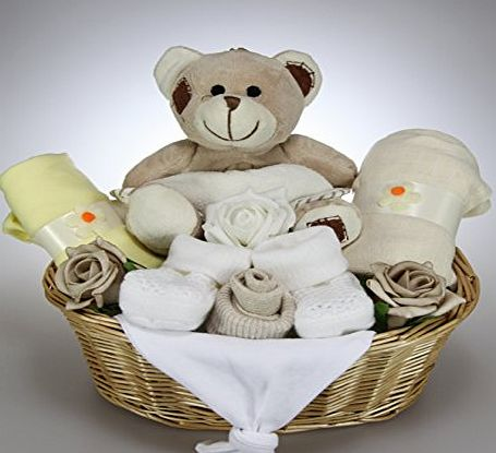 Tiny Togs Ltd Unisex Baby Boy Girl Baby Hamper Gift Basket Baby Shower Present