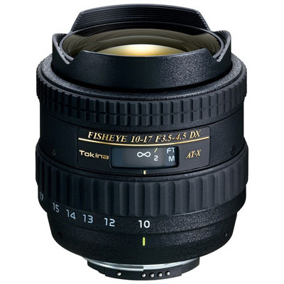 10-17mm f3.5-4.5 AT-X DX Lens - Canon Fit