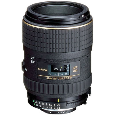 100mm f2.8 AT-X Macro Lens - Canon Fit