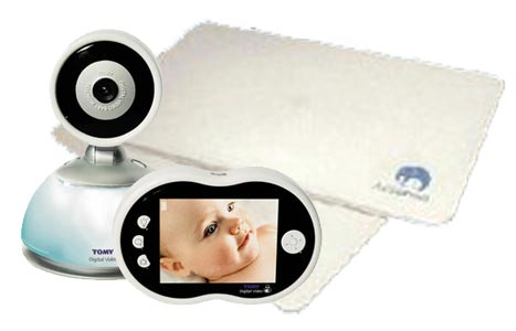 Tomy TDV450 Video Monitor Plus BabySense 2
