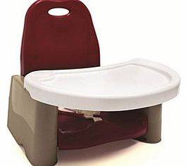 Swing Tray Booster Seat - Cranberry `TOMY