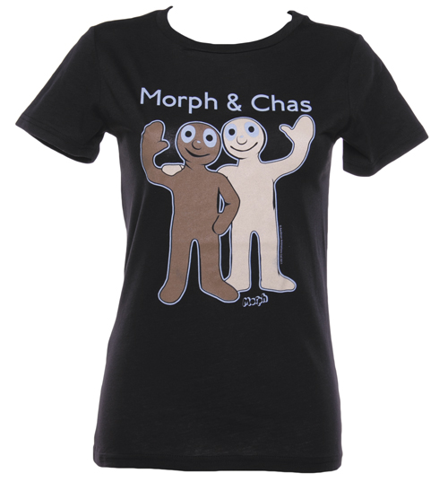 Ladies Morph and Chas T-Shirt from Too Late To