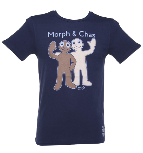 Mens Morph and Chas T-Shirt from Too Late