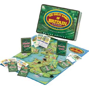 Great Game Britain Steam Trains Deluxe Tin
