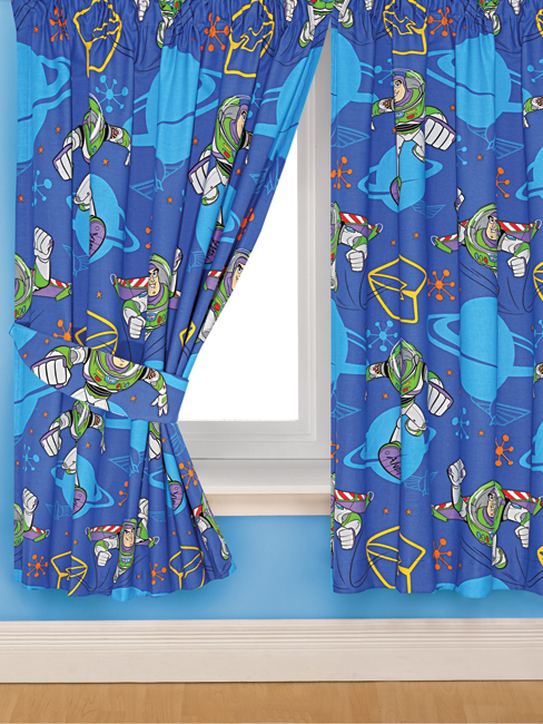 Buzz Lightyear Toy Story Infinity Curtains 72