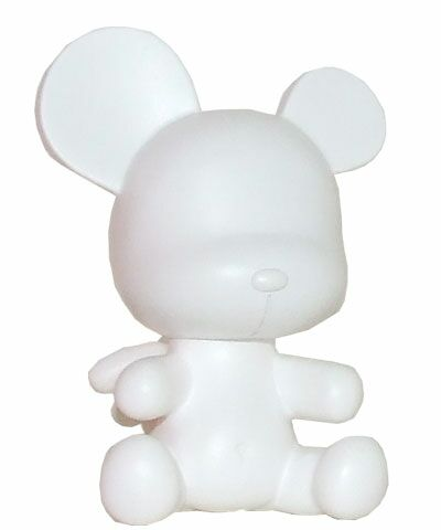3.5 Baby Qee DIY Angel Bear White
