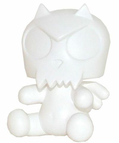 3.5 Baby Qee DIY Angel Devil Toyer White