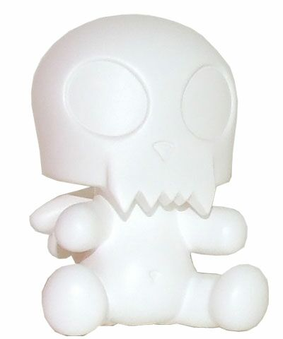 3.5 Baby Qee DIY Angel Toyer White