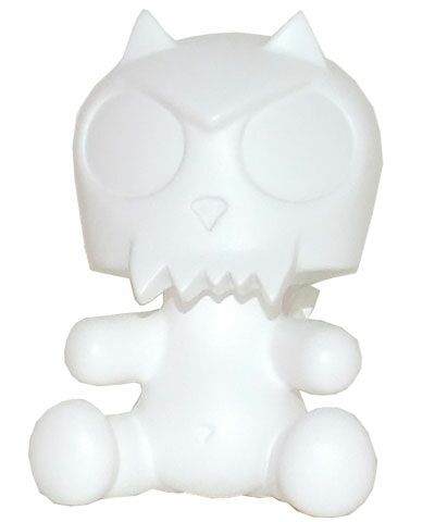 3.5 Baby Qee DIY Devil D Toyer White