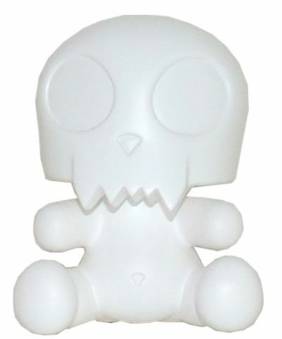3.5 Baby Qee DIY Devil Toyer White
