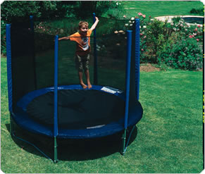 Big Bouncer Trampoline 8ft with Safety Surround