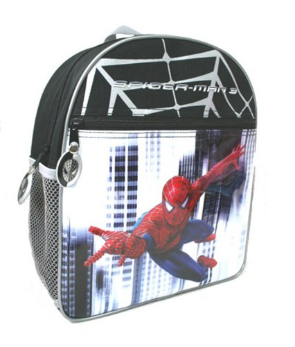 Spider Man 3 Backpack Red and Black