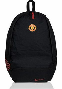 Nike 2011-12 Man Utd Nike Allegiance Backpack (Black)