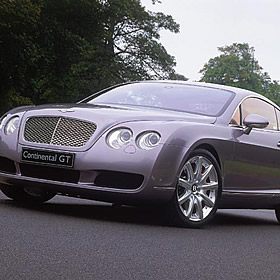 Bentley Continental GT Thrill for 2