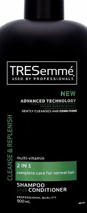 TRESemme TRESemmé Cleanse and Renew 2-in-1 Shampoo Plus Conditioner - 900 ml