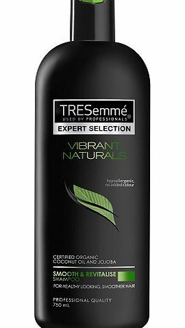 TRESemme TRESemmé Vibrant Naturals Smooth amp; Revitalize Shampoo - 750ml