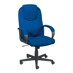 Trexus Blue Intro Managers Armchair High Back