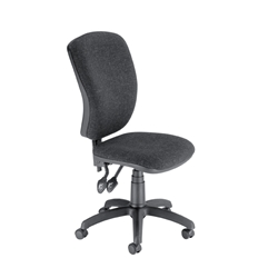 Trexus Charcoal Flair Operator Chair Permanent