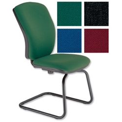 Trexus Flair Visitors Chair Green