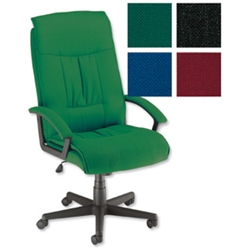 Trexus Intro Managers Chair Green