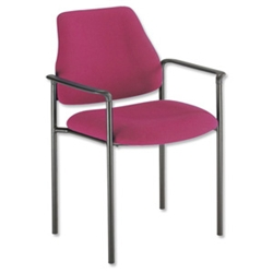 trexus Intro Meeting Chair Stackable Back H390mm