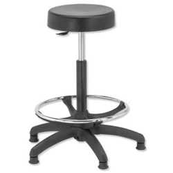WipeClean High Rise Stool