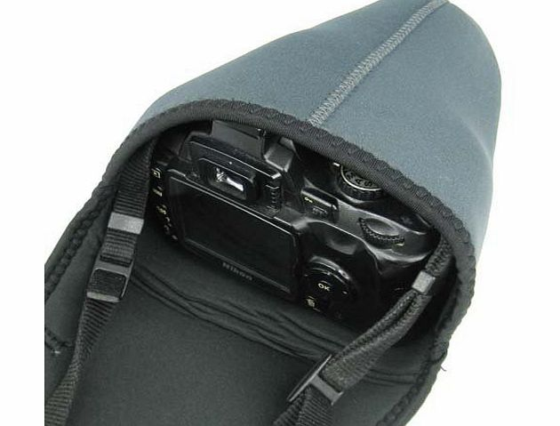 TRIXES DSLR S Soft Neoprene Camera Pouch Case Bag Cover