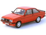 Die-cast Model Ford Escort RS2000 (1:43 scale in Red)