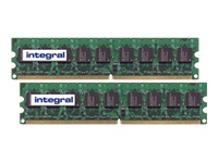 Integral memory - 1 GB : 2 x 512 MB - DIMM