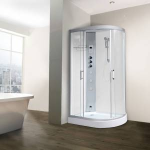 Alto 12 Left Offset Quadrant Steam Shower Cabin