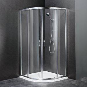 Bathroom Quadrant Shower Enclosure Cubicle Glass