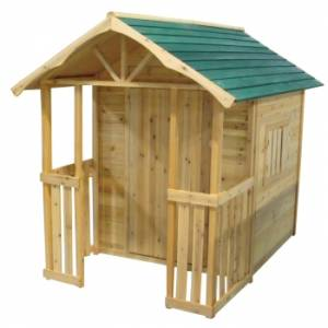 Childrens Big Wooden Playhouse /