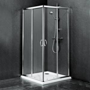 Ella Square Corner Entry Shower Enclosure 760 or