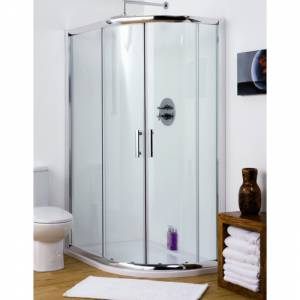 Offset Quadrant Shower Enclosure Cubicle 1000mm