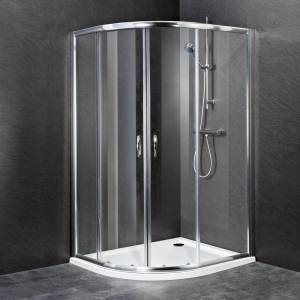 Offset Quadrant Shower Enclosure Cubicle