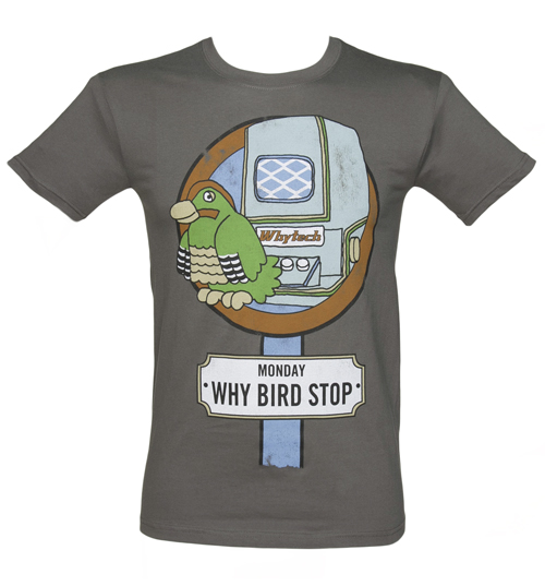 Mens Why Bird Stop Playdays T-Shirt