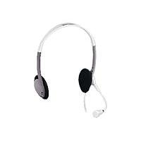 - Headset ( semi-open ) - grey, white
