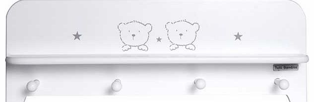 3 Bears Shelf - White