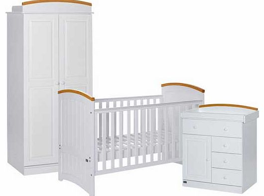 Barcelona 3 Piece Room Set - Beech